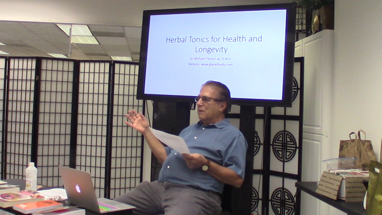 Herbal Tonics for Health and Longevity Video with Dr. Michael Tierra